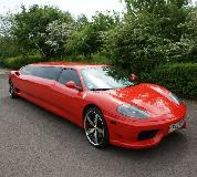 Ferrari Limo in Kent