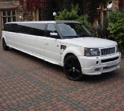 Range Rover Limo in Kent